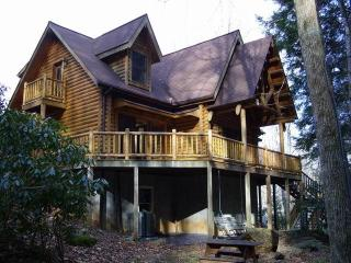 AWESOME LOG CABIN. AVAILABLE CHRISTMAS 2015 HURRY! - Burnsville vacation rentals