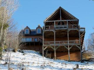 40 miles view!!!Asheville 30 min, Pool table, king - Burnsville vacation rentals