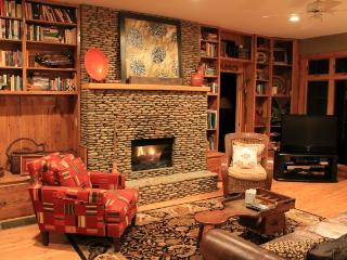 Gorgeous Cabin!!!!Rushing creek. Hiking, fishing. - Burnsville vacation rentals