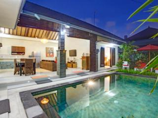View From Master Bedroom of Pool and Living Area - VILLA ASHA  SEMINYAK  BOUTIQUE VILLA - Kuta - rentals