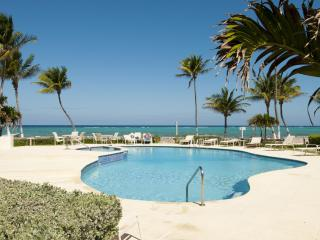 Stunning 2 BR Beach Front Condo - West Bay vacation rentals