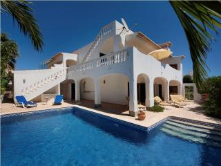 Comfortable villa, top roof terrace nice sea views - Lagos vacation rentals