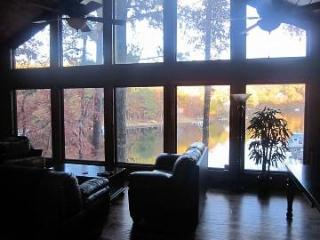 Lakefront home, theater, dock, swim-fish-boat - Waleska vacation rentals