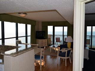 Breakers Beautiful  3 Bedroom Ocean/corner 15th fl - Myrtle Beach vacation rentals