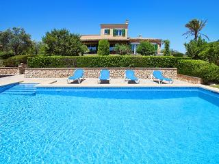 3 bedroom Villa in S Horta, Cala Dor, Mallorca : ref 4408 - S' Horta vacation rentals