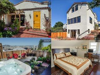 Potrero Paradise - Lux 3 BR 3 BA Hot Tub Views - San Francisco vacation rentals