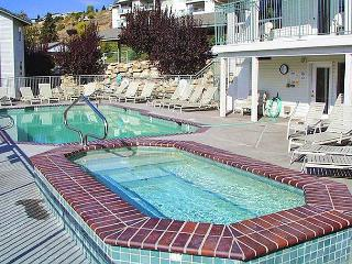 Chelan Park Pointe Condo D104, Ground Floor, Corner Unit, Community Pool - Orondo vacation rentals