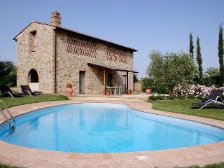 Wonderful 3 bedroom House in Montaione with Private Outdoor Pool - Montaione vacation rentals