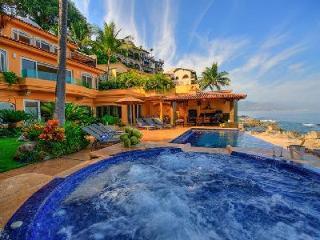 Casa Caleta- private beachfront enclave with infinity pool, charming  location - Puerto Vallarta vacation rentals