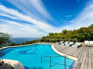 Modern oasis Grand Large offers superb ocean views & hillside terrace with pool - Gouverneur vacation rentals