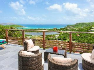 Brand new Villa Adamas with amazing ocean views and terrace with pool - Saint Barthelemy vacation rentals