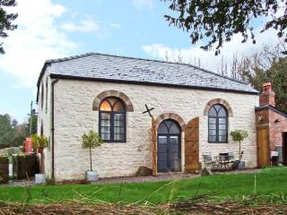 THE OLD BAPTIST CHAPEL, unique cottage, two en-suite bedrooms, woodburner, enclosed garden, near Monmouth, Ref 22484 - Usk vacation rentals
