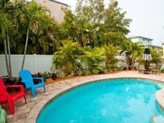 Pool side - LaRaya-801 Jacaranda - Anna Maria - rentals