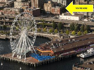 Stay Alfred Pike, 100 Walk Score, Rooftop Deck MS1 - Seattle vacation rentals