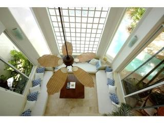 2 Bedroom Luxury condo Rental with 2 story high Living Room - Yucatan-Mayan Riviera vacation rentals
