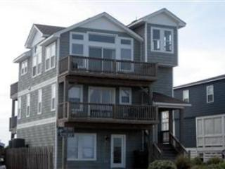 Front - Watch Sun Rise & Fall Over the Ocean & Sound, private pool & hot tub, 100' to Beach. NH13 - Nags Head - rentals
