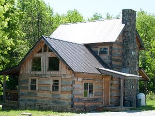 Orndorff Cabin- AUTHENTIC, Primitive & cozy CABIN in the MOUNTAINS OF PA!! - Seven Springs vacation rentals