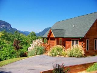 Log Cabin, Gorgeous Mtn Views, Large Game Room - Lake Lure vacation rentals