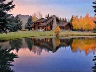 Riverside Log Home with Large Yard & Pond - Beautiful Quality Throughout the Home (1217) - Sun Valley / Ketchum vacation rentals