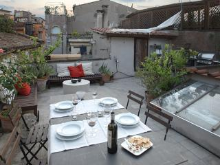 Terrace in Rome! La Torre, an extraordinary experience in a Medieval tower in Historical Center of Rome. - Rome vacation rentals