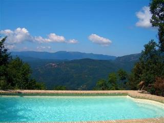 Near Rome, in Subiaco, Italy, Villa with Private Pool, Skiing in Winter, and Superb Views - Subiaco vacation rentals