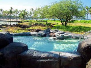 Exceptional 3 bedroom, 2 bath ground floor end unit with fabulous garden view - Waikoloa vacation rentals