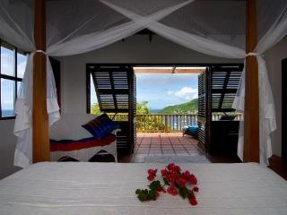 2 bedrooms, 2 bathrooms, pretty vacation villa, w/ pool, wonderful ocean views, beautiful gardens, 10 minutes to beach. (v) - Saint Vincent and the Grenadines vacation rentals