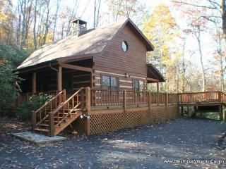 Cozy Private Log Cabin Near ASU*HotTub*Fireplace - Valle Crucis vacation rentals