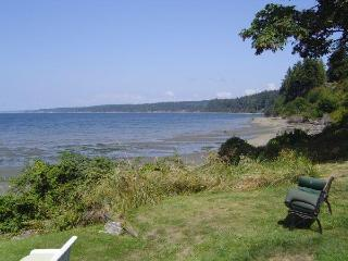 Waterfront beach house, Kayaks, wifi, dog friendly, sunsets, gorgeous view - Freeland vacation rentals