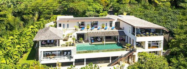 Villa Amanzi - Beachfront Villa Kata Beach Phuket - Image 1 - Phuket - rentals