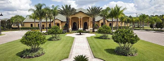 Main Entrance/Clubhouse - EXCLUSIVE LUXURY RESORT HOME MINUTES FROM DISNEY - Kissimmee - rentals