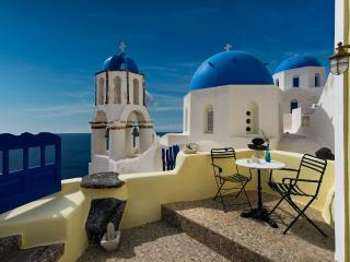 Turquoise tranquility Villa - Amazing view in Oia - Oia vacation rentals