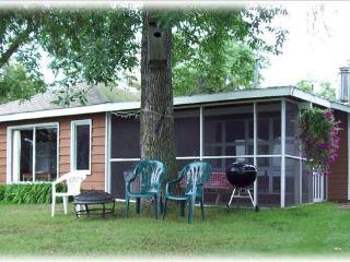 Cabin 2 Lake front, 3 Bedroom, Screened in patio - Blackduck vacation rentals