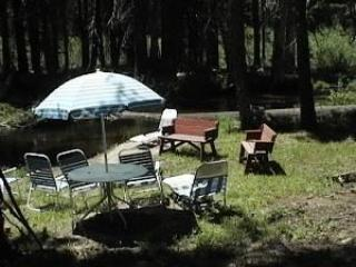Backyard right on the RIVER - Boyle River Lodge - Twin Bridges - rentals