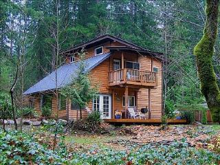 Vintage mountain lodge w/ dog-friendly attitude & three decks! - Welches vacation rentals