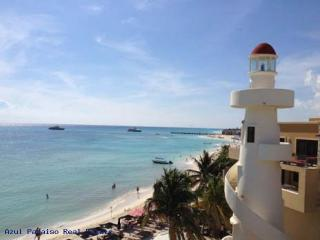 PERFECT RENT, EL FARO 2 BEDR APART BEACH FRONT - Playa del Carmen vacation rentals