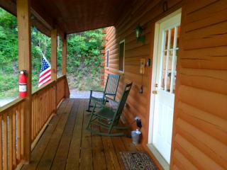 Golf? Cycling? Hiking? What's on your mind? 2/2 Log Cabin Fire pit Deck Views! - Maggie Valley vacation rentals