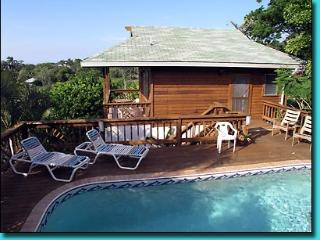 Casita Pool Home on 1.5 Acres & 400 foot Dock/View - Bay Islands Honduras vacation rentals