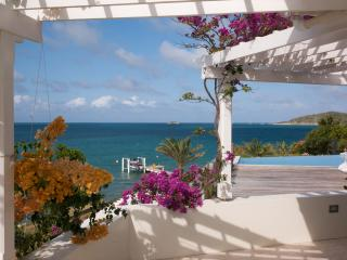 Sea front villa in Nonsuch Bay;  own beach & docks - Antigua vacation rentals