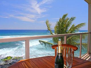 "Kuhio Shores 418 - Oceanfront Two Bedroom ""Penthouse"" Poipu Condo - Poipu vacation rentals"