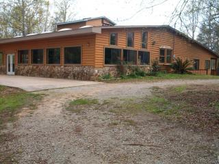 08 Log.JPG - Quiet Secluded Log Cabin Lake Home - Lincolnton - rentals