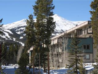 Inviting On Shuttle Route 2 Bedroom Condo - Ski and Racquet b-205 - Breckenridge vacation rentals