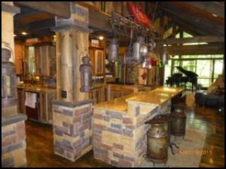 *MOONSHINE RAPIDS* Luxury Riverfront Cabin - Image 1 - Ellijay - rentals