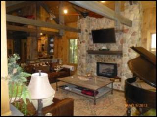 *MOONSHINE RAPIDS* Luxury Riverfront Cabin - Ellijay vacation rentals