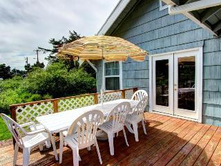 Pet-friendly classic beach cottage with water views! - Rockaway Beach vacation rentals