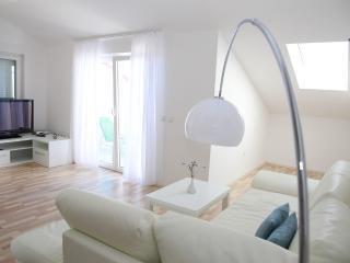 Luxury Beachfront Apartment (8) sleeps 4+2 - Island Pag vacation rentals