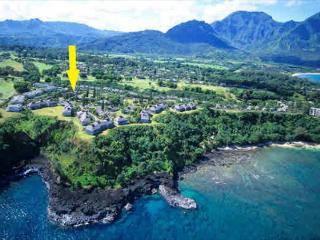 Pali Ke Kua #13 with Garden Views.  Sleeps 6 comfortably! - Princeville vacation rentals