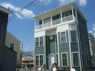 Full view of house - 7 houses from Ocean - Chadwick Beach, New Jersey - Lavallette - rentals
