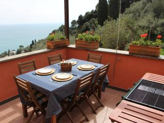 Penthouse with Garden and Terrace Sea View.Zoagli - Leivi vacation rentals