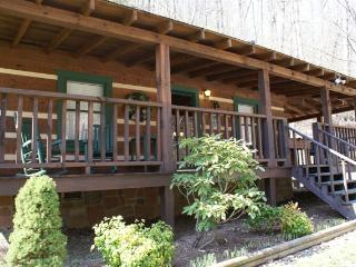 """Honeymoon Hideaway"" Log Cabin, King Sz Custom Log Bed, Private Hot Tub, Rockers - Sevierville vacation rentals"